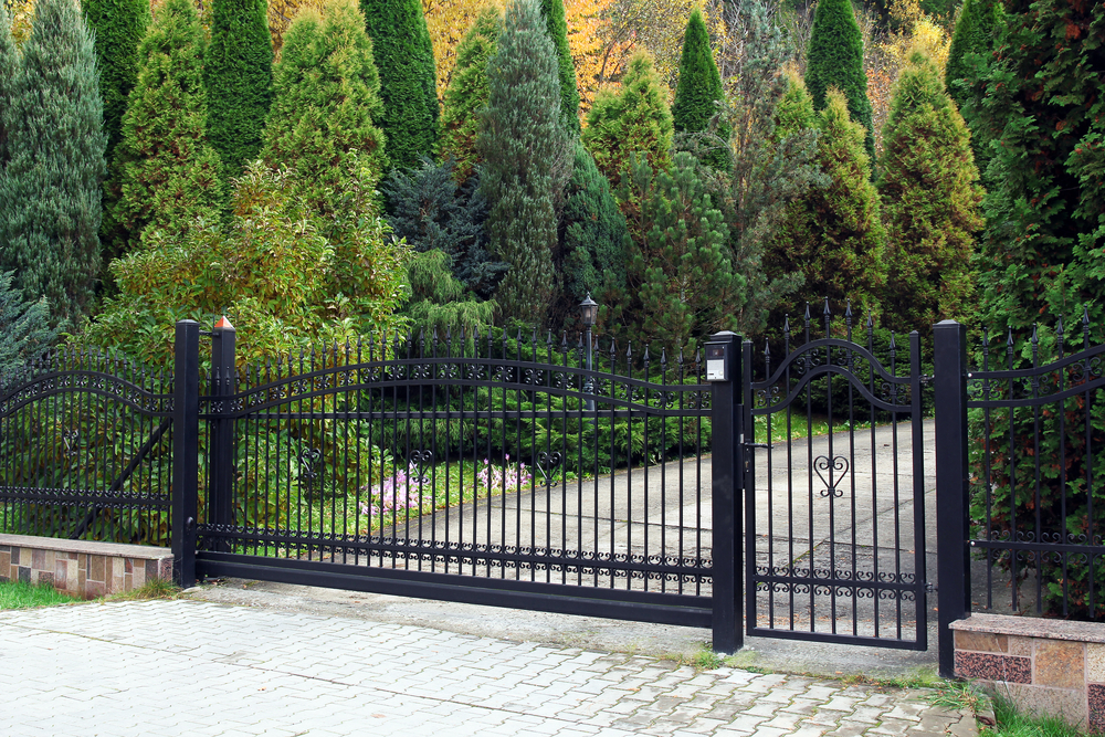 Picture of Automatic Driveway Gates